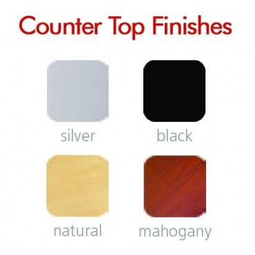 Countertop Top Finish Color Options (Optional)