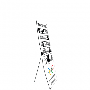 COVID-19 Infographic Econom-X Graphic Package (Large) (Black) - Side