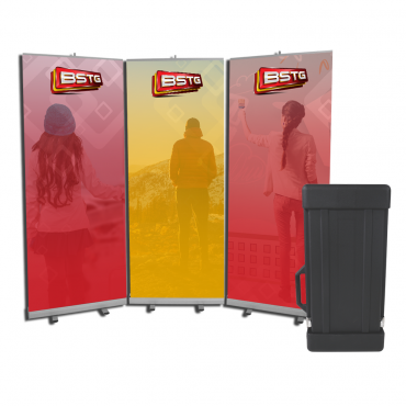 FASTwall Banner Display with OCB Case