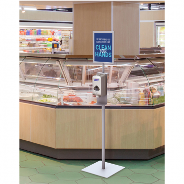 Hand Sanitizer Dispenser Stand - Environment