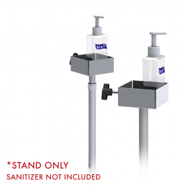 Hand Sanitizer Pump Stand - Adjustable and Fixed