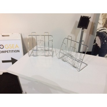 Trifold Wire Literature Display