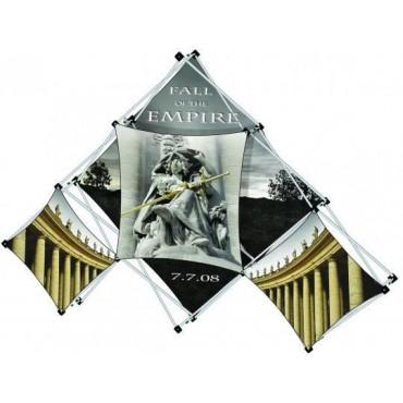 Pyramid Collage Display
