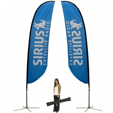 Feather Outdoor Display - Large (Double Sided)