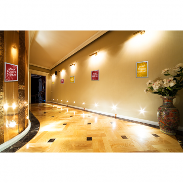 "Snap Poster Display (8.5""x11"") - Hallway"