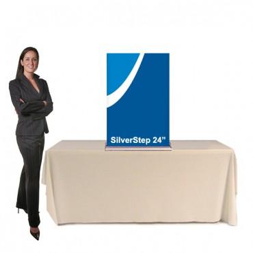"""SilverStep Table Display - 24"""""""