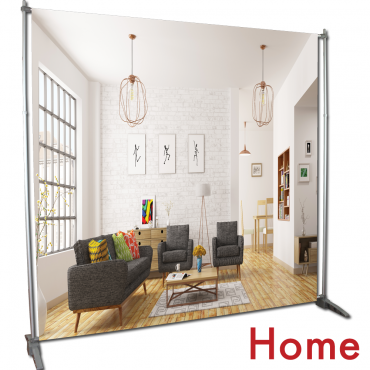 Video Backdrop Graphic Package - Home