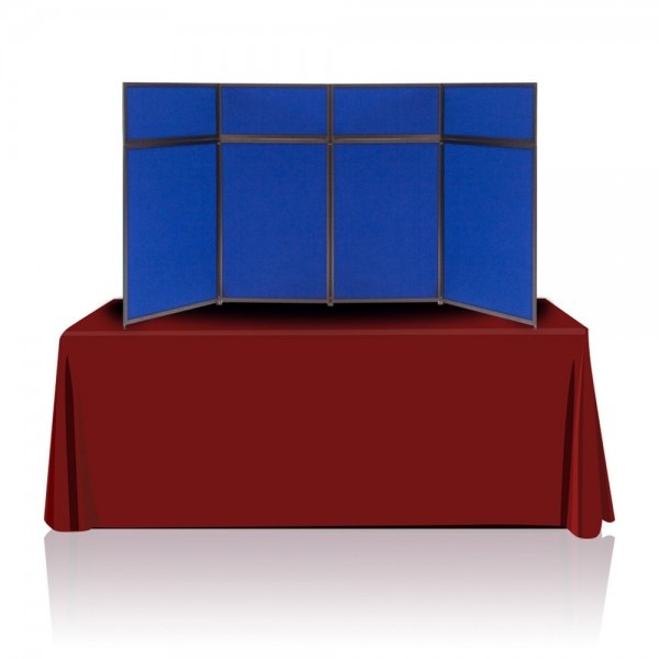 Tabletop Panel Display 8ft (Blue/Dark Blue)