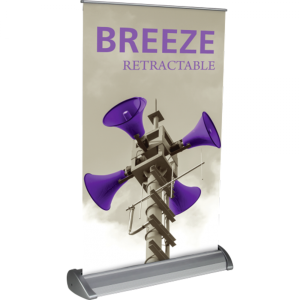 "Breeze Retractable Table Display (11"" x 17"") - Left"
