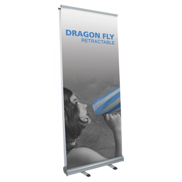 Dragon Fly Retractable Display (Double-Sided)