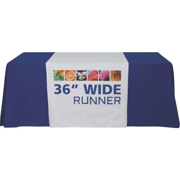 "Custom Printed Table Runner (36"")"