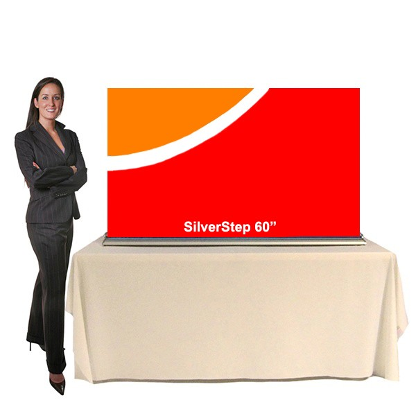 """SilverStep Table Display - 60"""""""