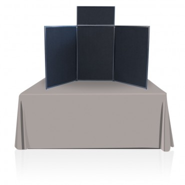 Tabletop Panel Display (Black/Gray)