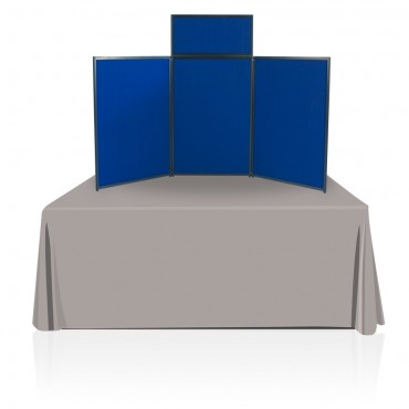 Tabletop Panel Display (Dark Blue/Light Blue)
