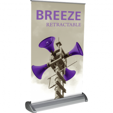"Breeze Retractable Table Display (11"" x 17"") - Left"