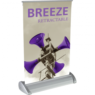 "Breeze Retractable Table Display (8.5"" x 11"") - Left"