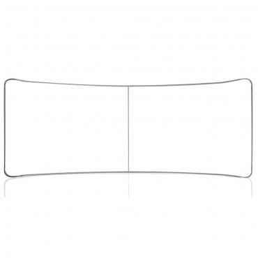 EZ Tube 20' Curve (Single-Sided) - Hardware