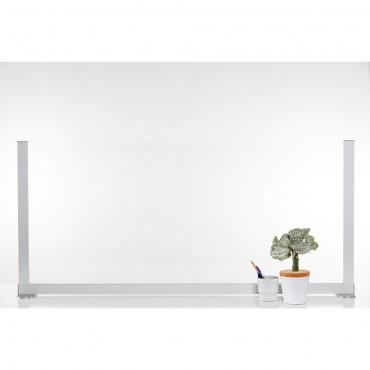 Loftwall Counter Shield Basic Sneeze Guard - Large