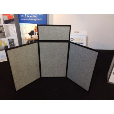 Tabletop Panel Display - Front