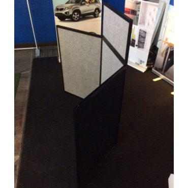 Tabletop Panel Display - Side