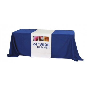 "Custom Printed Table Runner (24"")"