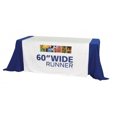 "Custom Printed Table Runner (60"")"