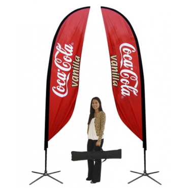 Feather Outdoor Display - Small (Double Sided)