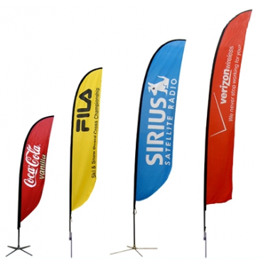 Feather Outdoor Flag