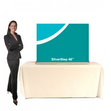 SilverStep Table Display - 48""