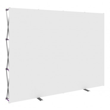 Standard 10' Hopup Fabric - Straight (No Endcaps) (White)
