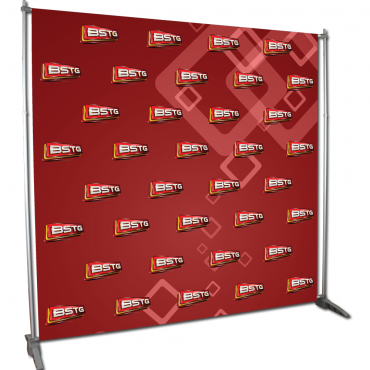Video Backdrop Graphic Package - Left