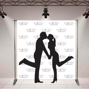 Wedding Banner Display