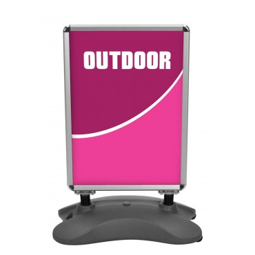 Whirlwind Outdoor Signboard (Double-Sided)