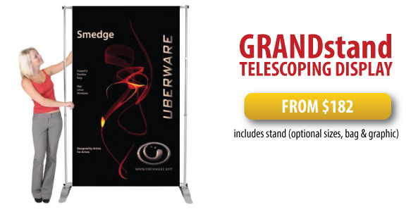 Grandstand Telescoping Display